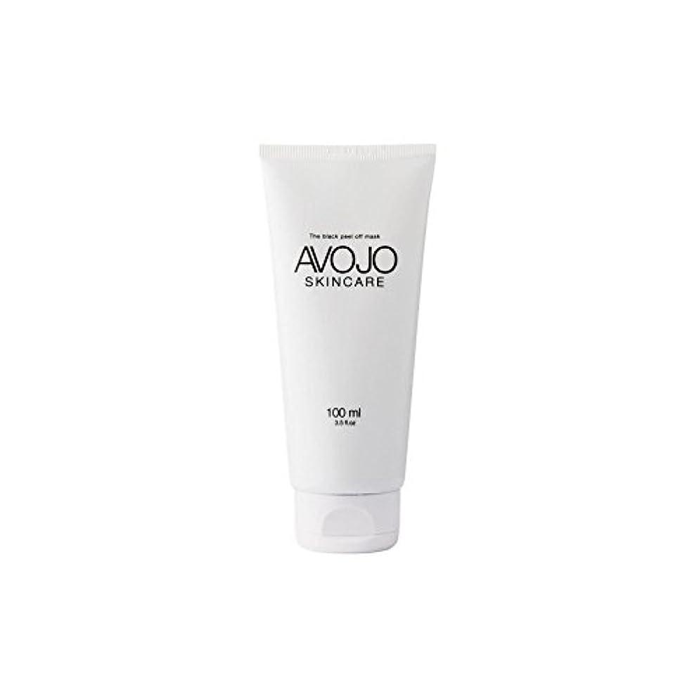 - 黒皮オフマスク - (ボトル100ミリリットル) x4 - Avojo - The Black Peel Off Mask - (Bottle 100ml) (Pack of 4) [並行輸入品]
