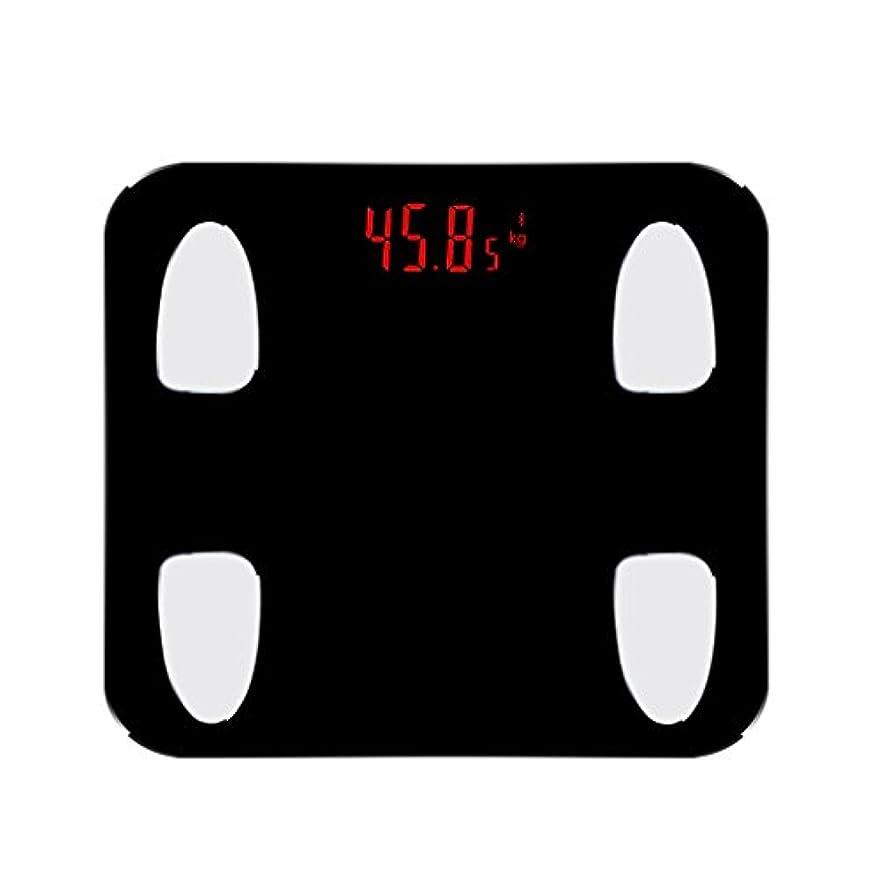 定刻主張する地理400ポンドデジタルウェイトバスルームスケールBluetoothスマートワイヤレスボディファットスケール、8MMガラス、高精度測定