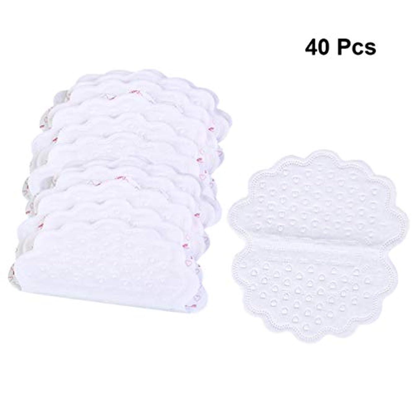 それぞれキャップ時々SUPVOX 40ピース脇の下吸収汗パッド通気性使い捨て脇の下制汗剤ステッカー用女性男性夏ランニング使用