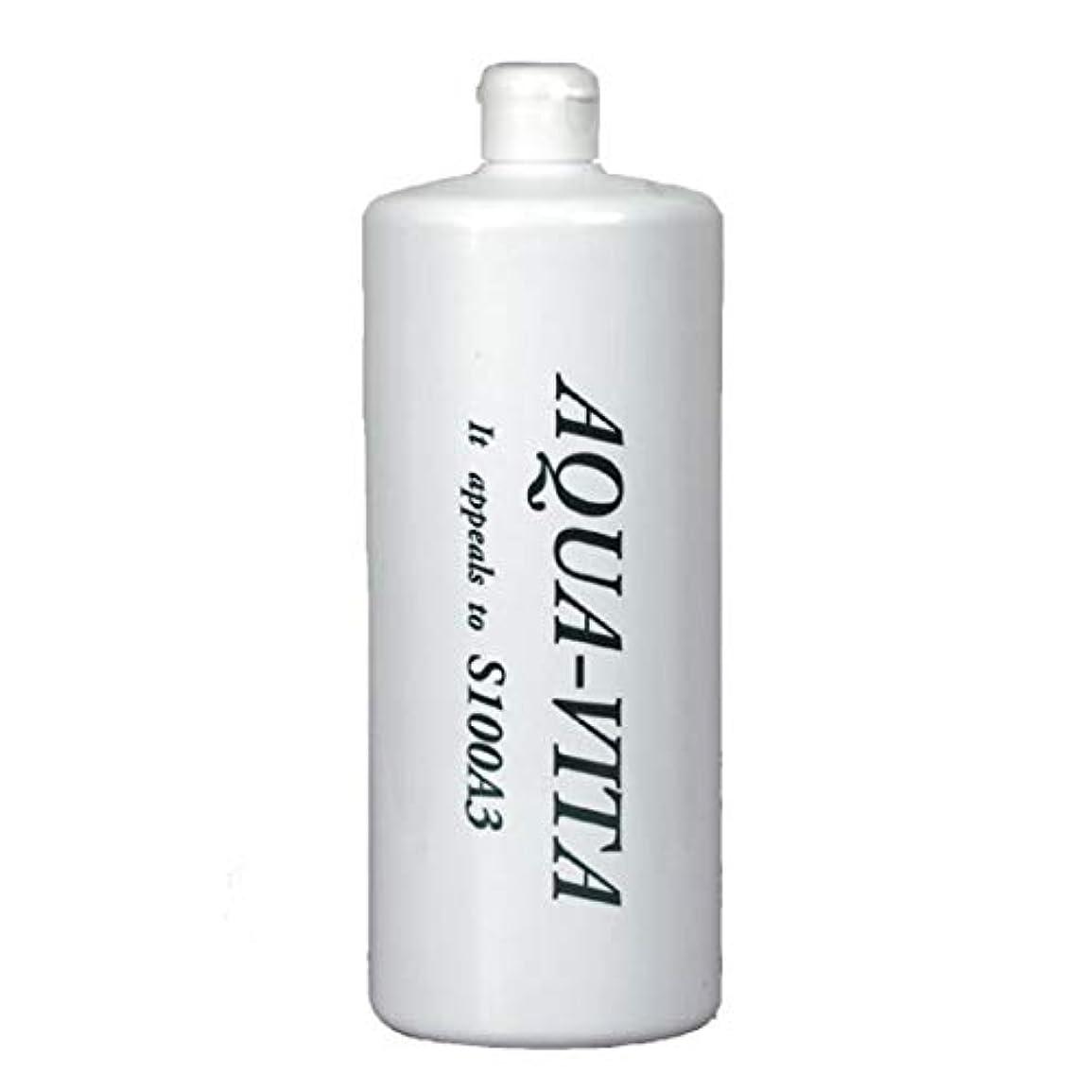 プラグに対処する異常全身用化粧水 アクアヴィータ (1000ml (お得用サイズ))