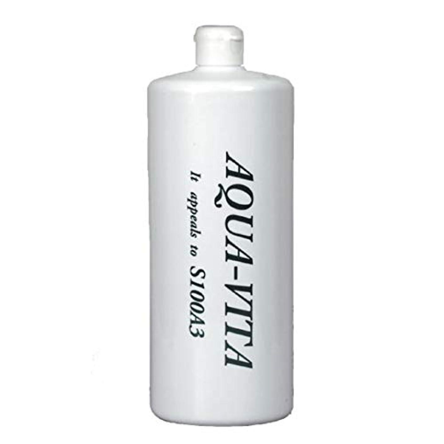 繁栄敏感な二週間全身用化粧水 アクアヴィータ (1000ml (お得用サイズ))