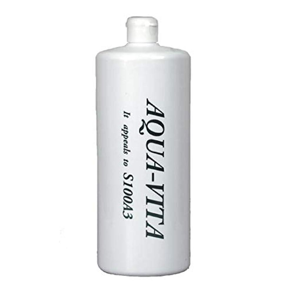 含めるバクテリア食欲全身用化粧水 アクアヴィータ (1000ml (お得用サイズ))