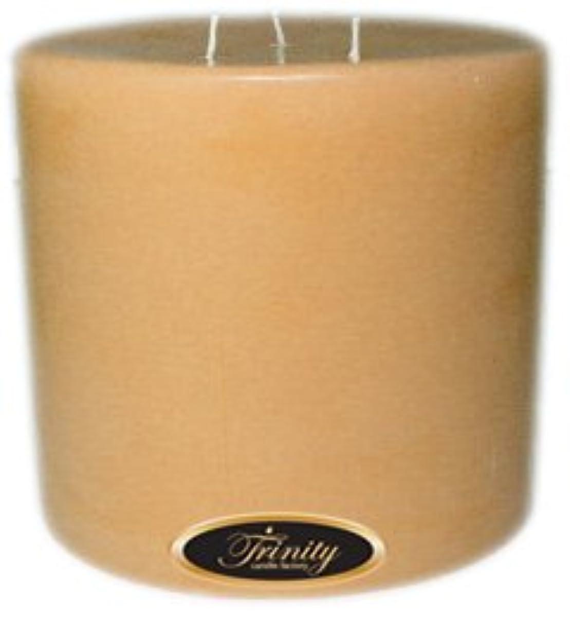アルバニートレイ凝縮するTrinity Candle工場 – サンダルウッド – Pillar Candle – 6 x 6