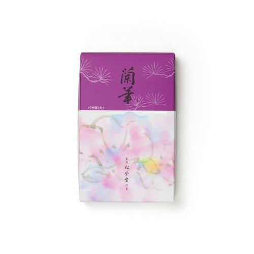 『松栄堂のお線香 蘭華 バラ詰大 約135mm #122105』の1枚目の画像
