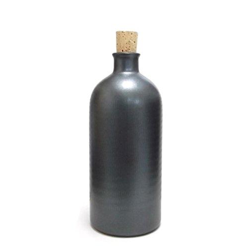 信楽焼き イオン ボトル 太丸 ブラック ION-10B [7869]