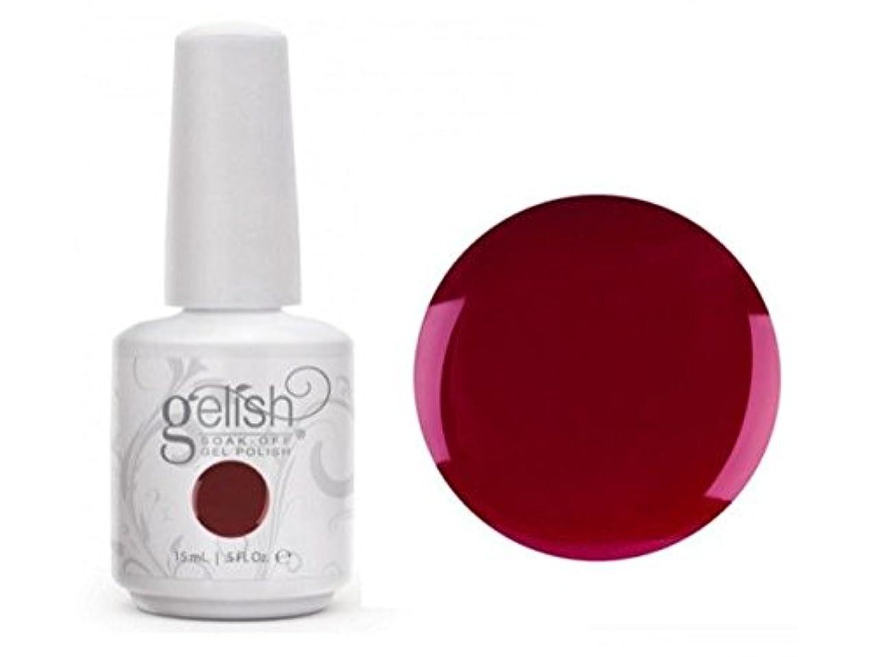 でロースト赤字Harmony Gelish Gel Polish - Hello, Merlot! - 0.5oz / 15ml