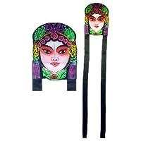 中国Lady Face Kite – からPeking Opera (ナイロン凧)