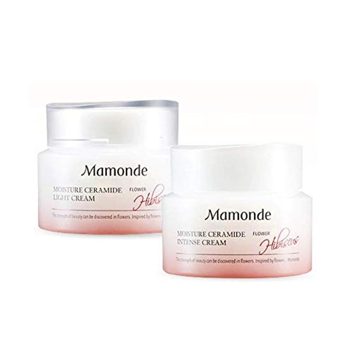 組み合わせ栄光非常にマモンドモイスチャーセラミドインテンスクリーム50mlx2本セット韓国コスメ、Mamonde Moisture Ceramide Intense Cream 50ml x 2ea Set Korean Cosmetics [並行輸入品]