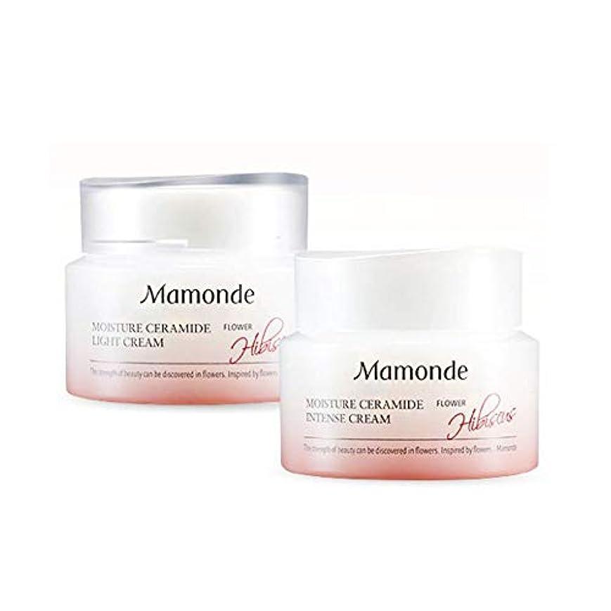 パイプラインスキップ騒乱マモンドモイスチャーセラミドインテンスクリーム50mlx2本セット韓国コスメ、Mamonde Moisture Ceramide Intense Cream 50ml x 2ea Set Korean Cosmetics...