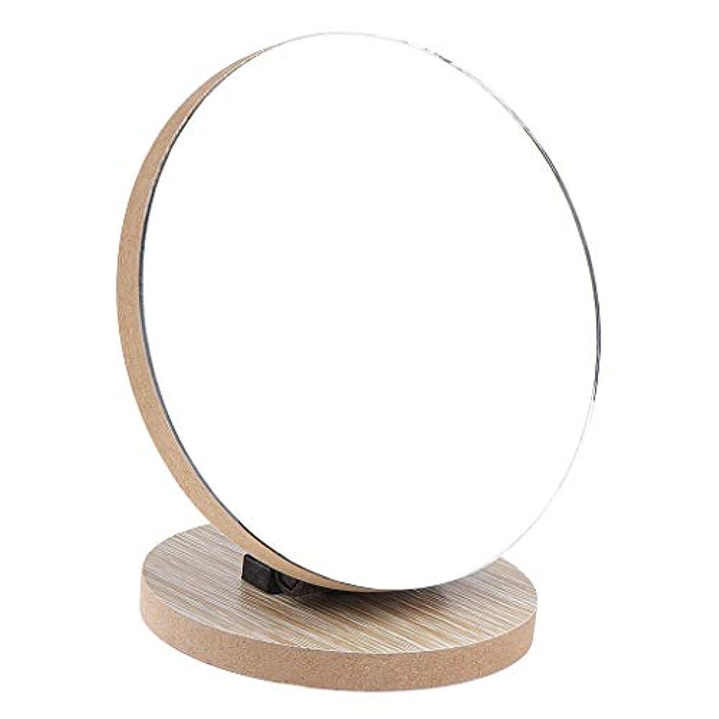 アンティーク冊子ファーザーファージュ化粧鏡 テーブルトップスタンド 丸い ミラー 2サイズ選べ - 12.5 cm