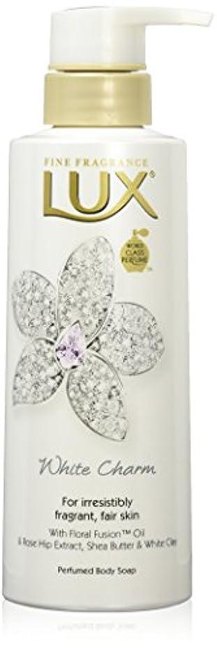 松明ケーキ望ましいラックス ボディソープ ホワイトチャーム ポンプ 350g (ホワイトフローラルムスクの香り)