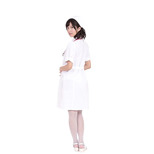Angel nurse costume white ladies