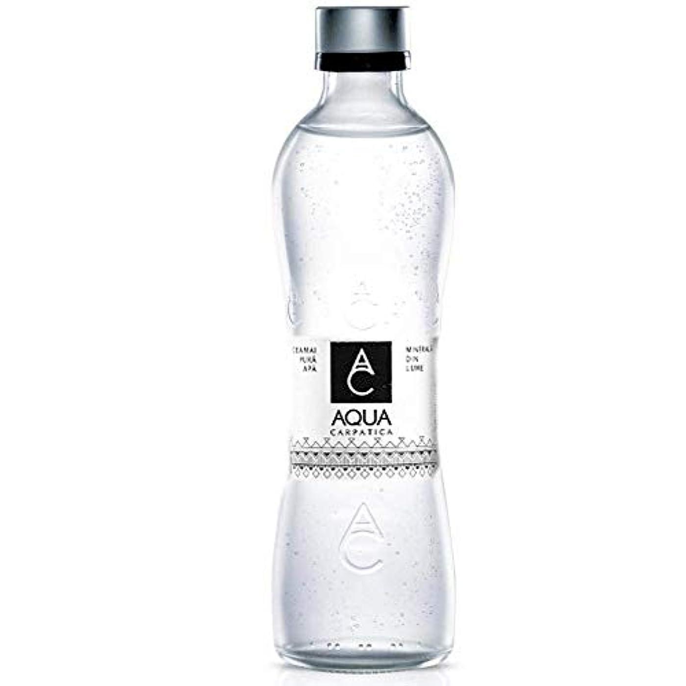 ビザ実証するバースAQUA CARPATICA アクアカルパチカ スパークリングミネラルウォーター 330ml瓶×12本