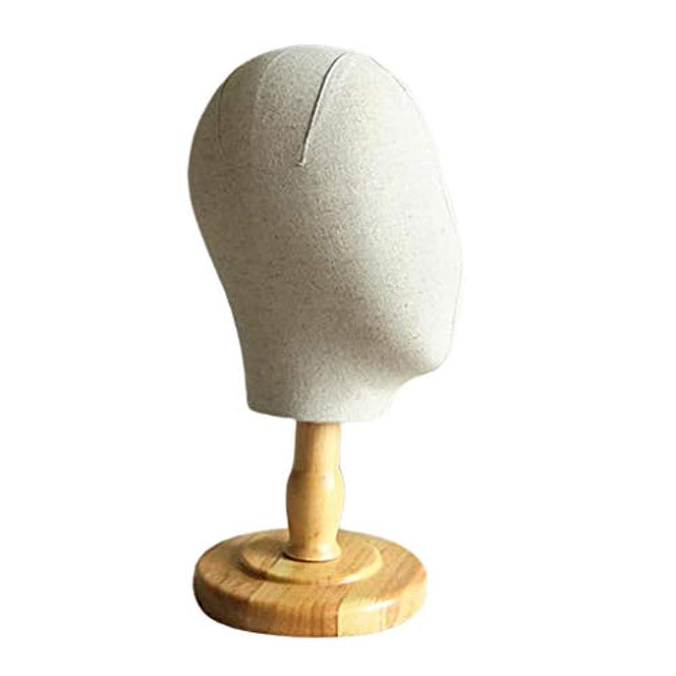 難しい美的前者Toygogo 帽子 スタンド マネキンヘッド ウィッグスタンド かつら ウィッグ ディスプレイ ヘッドホルダー