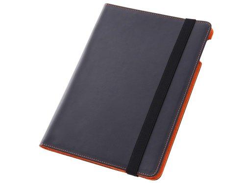 レイ・アウト iPad Air用 フラップタイプ・マルチアングル・レザー/ブラック RT-PA5LC1/B
