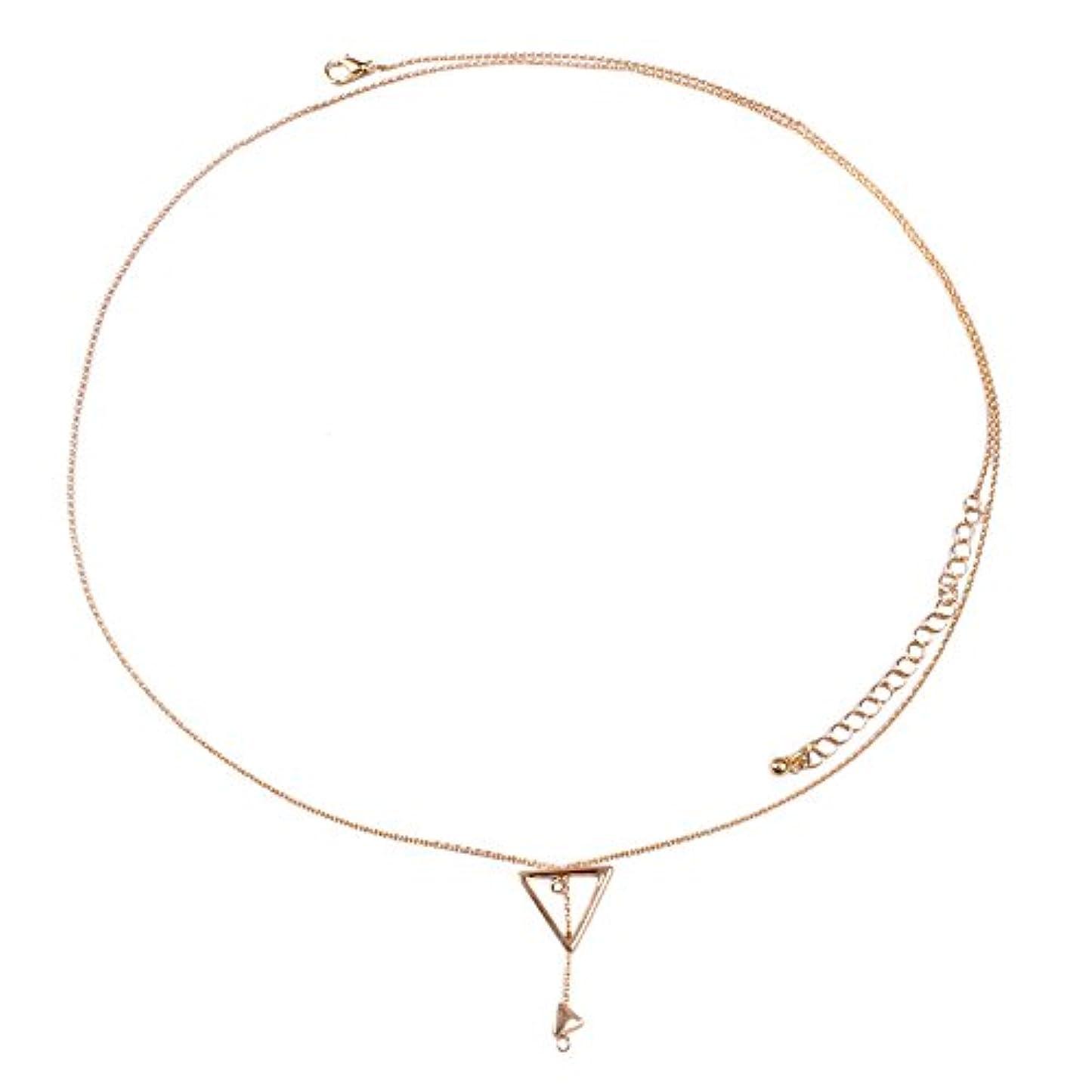 それる履歴書野な気質可愛い 銀のネックレス 幾何学三角欧米個性セーター百搭ネックレス プレゼント