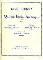 ボザ : 14のアラベスク練習曲 (フルート教則本) ルデュック出版