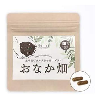 土壌菌サプリメント おなか畑 30カプセル入り(大豆発酵食品)