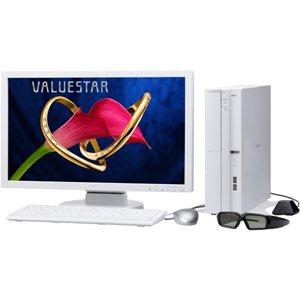 NEC デスクトップパソコン VALUESTAR L【3D対応】(Office H&B搭載) PC-VL750CS