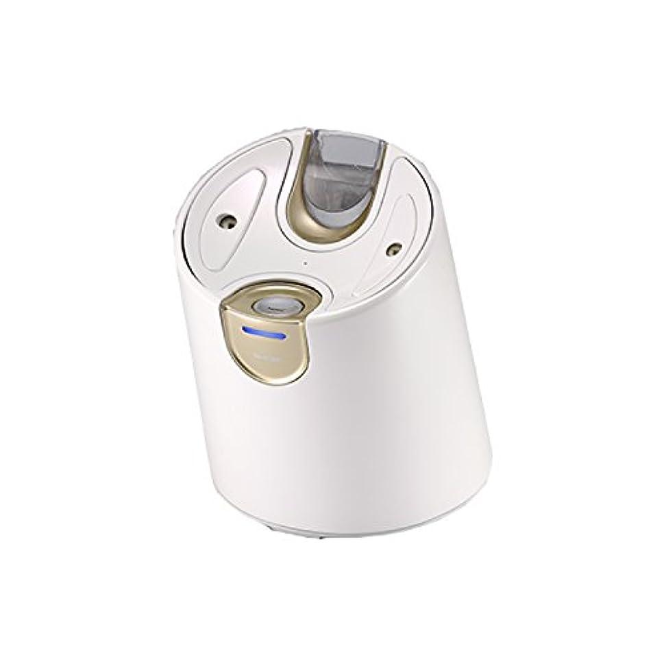 シャツ労働ダイジェストYA-MAN(ヤーマン) 美顔器 スチーマー ピュア水素水スチーマー 毛穴 温冷 美容家電 保湿 角質  IS94W