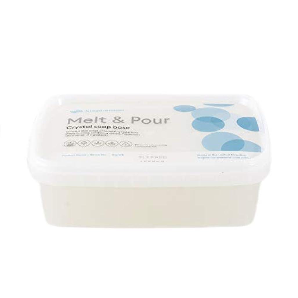 宿命繰り返し超越するMelt And Pour Soap Base Clear SLS FREE - 1Kg