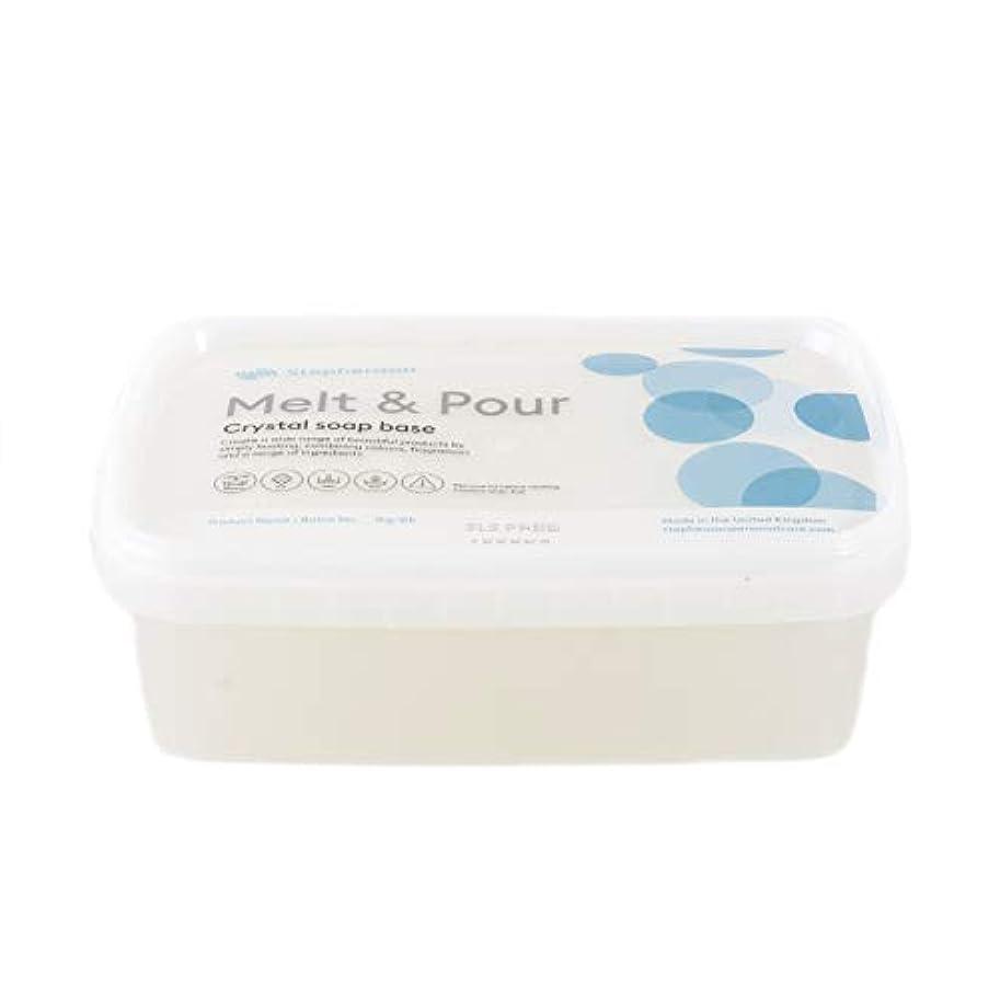 ドリンク火薬望むMelt And Pour Soap Base Clear SLS FREE - 1Kg