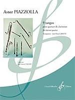 ピアソラ : 9つのタンゴ (クラリネット四重奏) ビヨドー出版