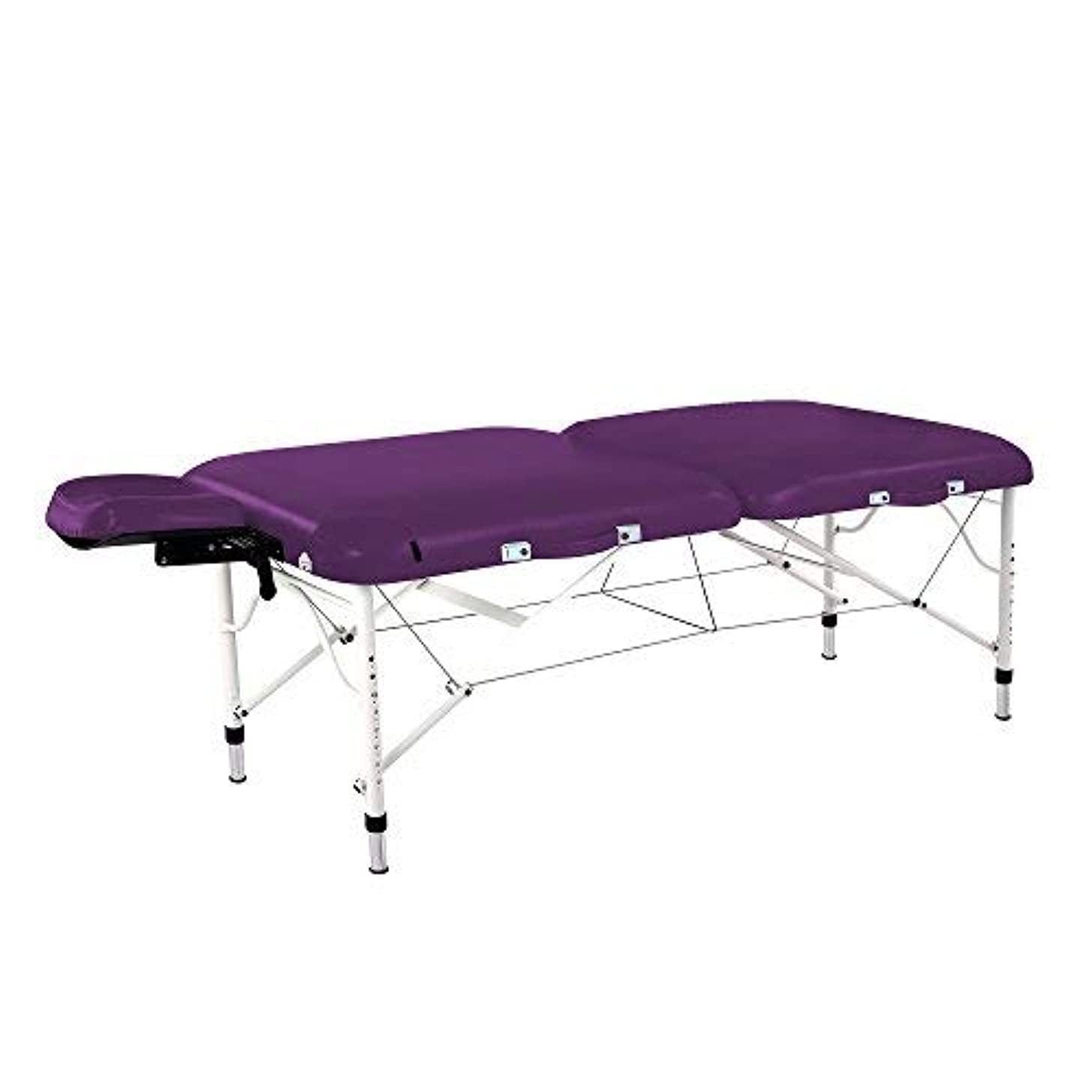 デコラティブにもかかわらず収益Master Massage Calypso Ultra-Light LX Massage Table Package Violet 30 Inch [並行輸入品]