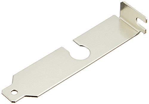 長尾製作所 SS-NPCIK-LPS  ロープロファイル用 穴付スロットカバー 1枚入 銀