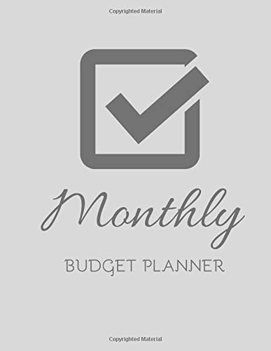 Monthly Budget Planner: Expense Finance Budget, Budgeting Planner And Organizer Tracker Workbook Journal