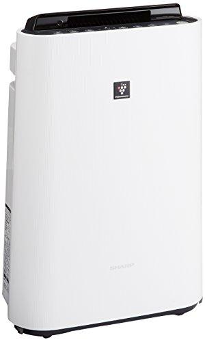 シャープ 加湿 空気清浄機 プラズマクラスター 7000 スタンダード 13畳 / 空気清浄 23畳 花粉 ホワイト KC-G50-W