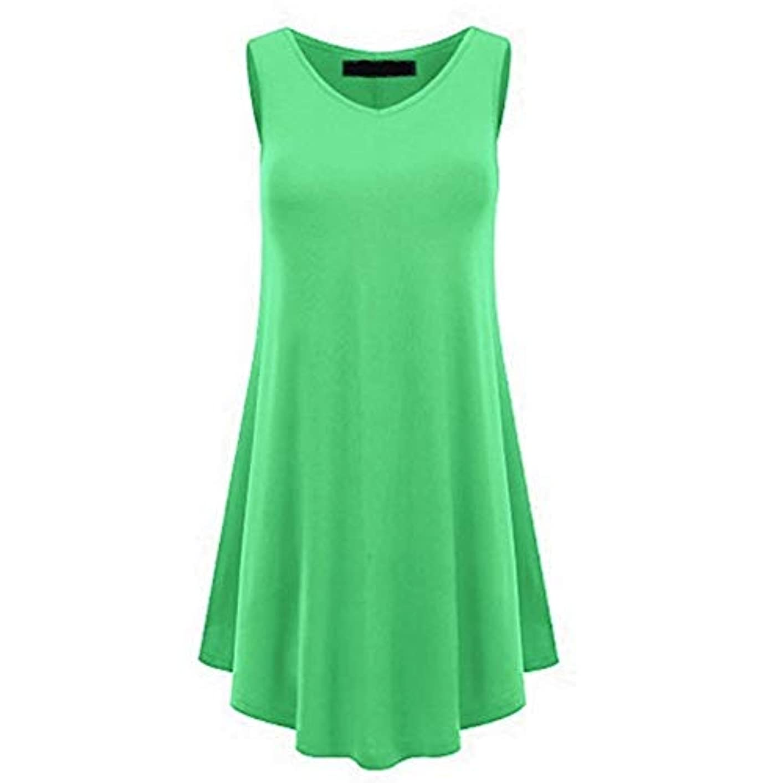 請求書一見地下鉄MIFAN の女性のドレスカジュアルな不規則なドレスルースサマービーチTシャツドレス