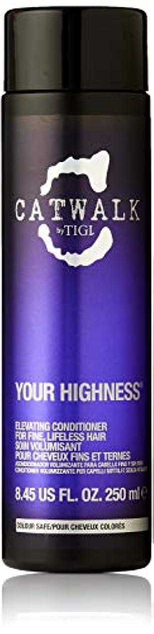 お手伝いさん納得させる結婚したティジー キャットウォーク ユア ハイネス エレベーティング コンディショナー (細く元気のない髪用) 250ml/8.45oz