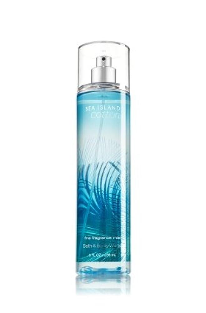 明らか軽減求める【Bath&Body Works/バス&ボディワークス】 ファインフレグランスミスト シーアイランドコットン Fine Fragrance Mist Sea Island Cotton 8oz (236ml) [並行輸入品]