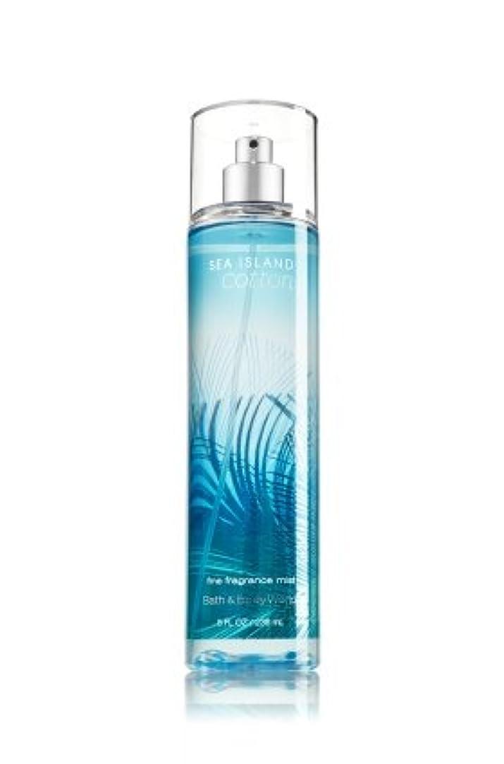 適応心理的に作家【Bath&Body Works/バス&ボディワークス】 ファインフレグランスミスト シーアイランドコットン Fine Fragrance Mist Sea Island Cotton 8oz (236ml) [並行輸入品]