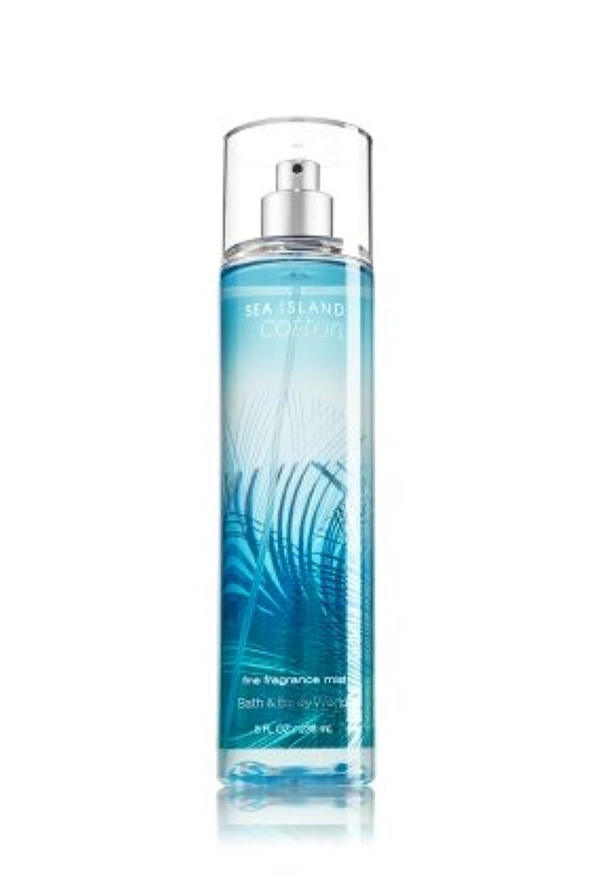 換気する希望に満ちたクラッチ【Bath&Body Works/バス&ボディワークス】 ファインフレグランスミスト シーアイランドコットン Fine Fragrance Mist Sea Island Cotton 8oz (236ml) [並行輸入品]