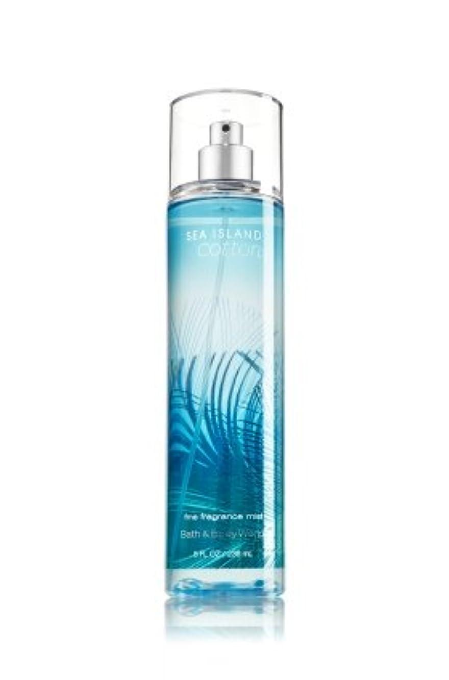 純度四面体機知に富んだ【Bath&Body Works/バス&ボディワークス】 ファインフレグランスミスト シーアイランドコットン Fine Fragrance Mist Sea Island Cotton 8oz (236ml) [並行輸入品]
