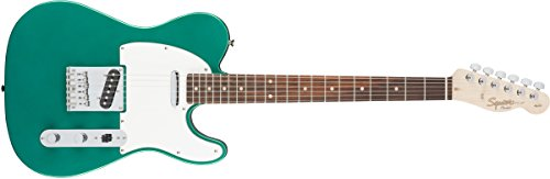 Squier by Fender エレキギター Affinity Series™ Telecaster®, Laurel Fingerboard, Race Green