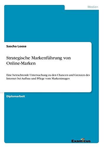 Download Strategische Markenfuehrung von Online-Marken 386746653X