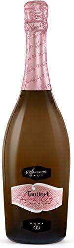 [Amazon限定ブランド]【軽快な泡立ちで軽やかなロゼスパークリング】ファンティネル ロゼ ブリュット ワン&オンリー 750ml[イタリア/スパークリングワイン/辛口/Curator's