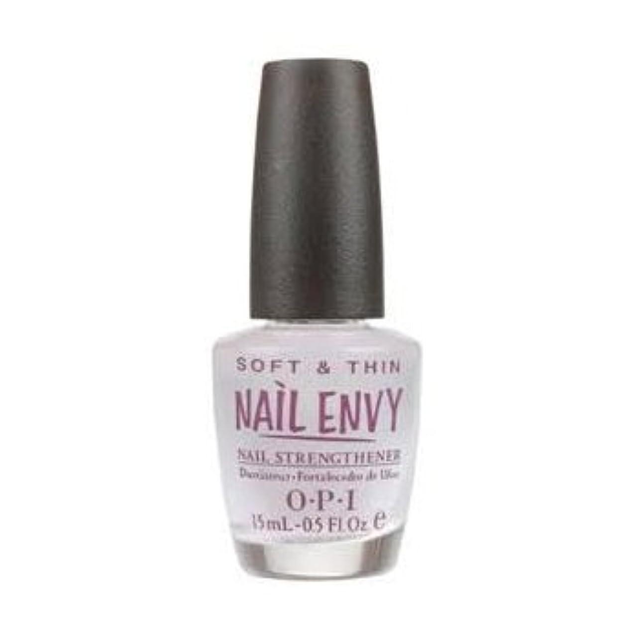 アプライアンスインストラクター宝OPI Nail Polish Nail Envy Soft & Thin Natural Nail Strengthener For Soft, Thin Nails