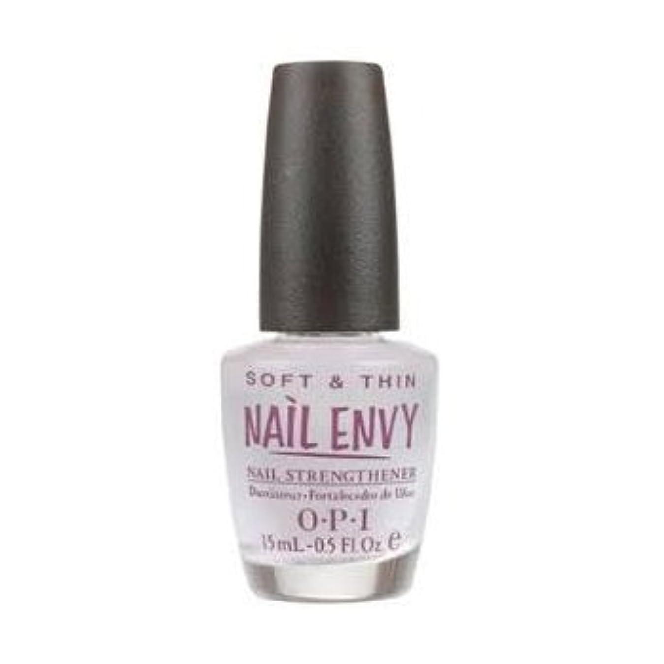 ジャンプ先入観技術者OPI Nail Polish Nail Envy Soft & Thin Natural Nail Strengthener For Soft, Thin Nails