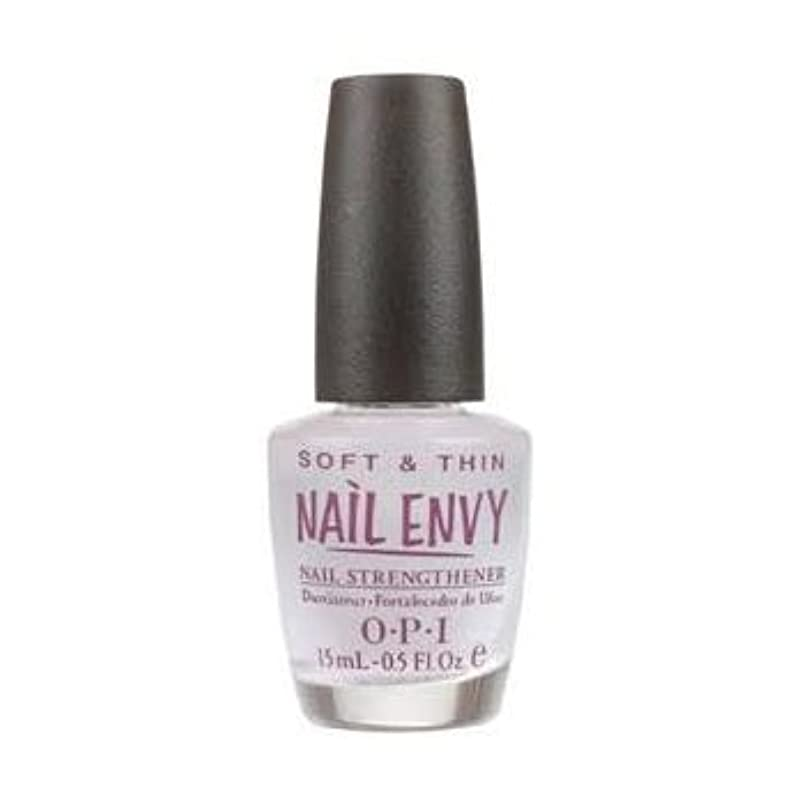 叱るリッチ武器OPI Nail Polish Nail Envy Soft & Thin Natural Nail Strengthener For Soft, Thin Nails