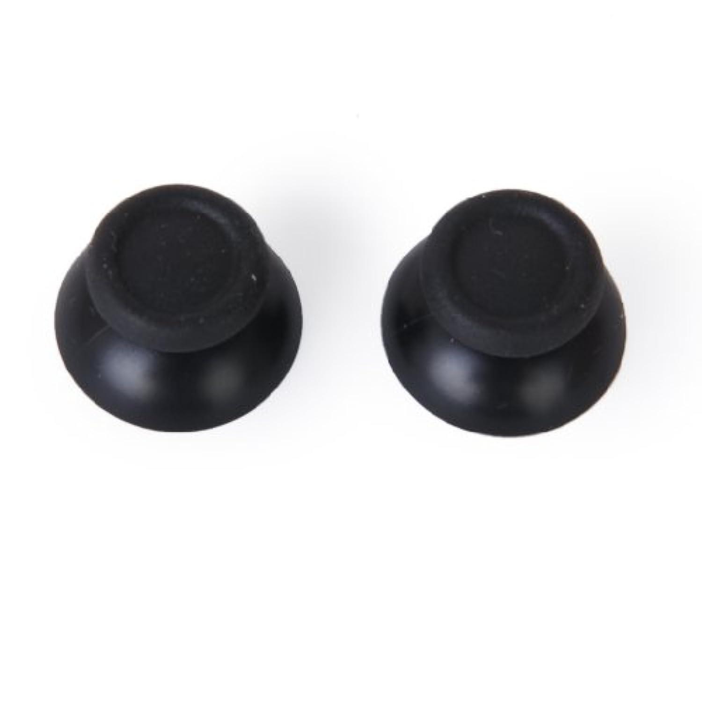 Lovoski  コントローラー用 交換部品   サムスティック ブラック Sony PlayStation 4 PS4 対応