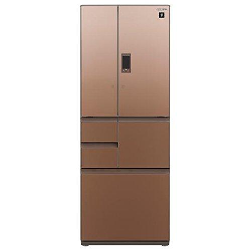 シャープ 502L 6ドア冷蔵庫(グラデーションブラウン)SHARP プラズマクラスター冷蔵庫 SJ-GX50D-T