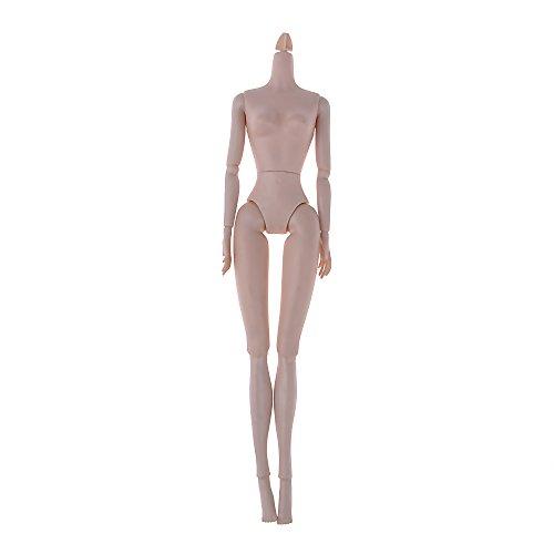 バービー人形 4関節 360度回転樹脂ヌード 女性の体 コスプレおもちゃ