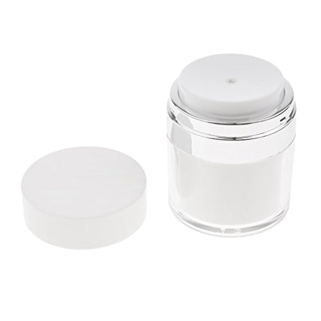 キュービック鍔料理をするPerfeclan エンプティエアレスクリームケース 空ケース プレスボトル クリーム 容器 メイクアップジャー 化粧品