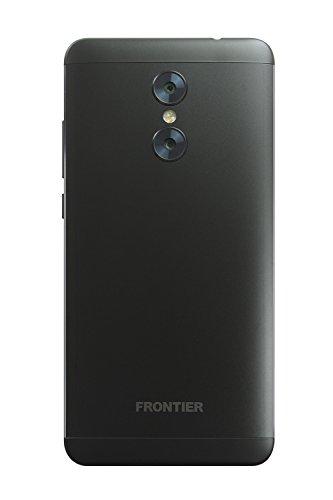 FRONTIER PHONE ブラック 【OCNモバイルONE SIMカード付】 (データSIM(ナノ), ブラック)