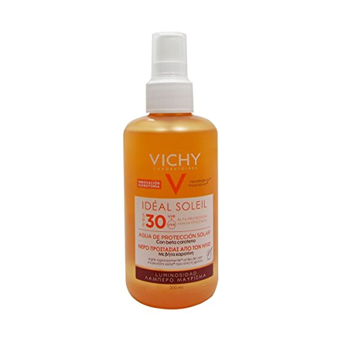 作成するエラー絶壁Vichy Ideal Soleil Fresh Water Sun Protection Spf30 Luminous Tan 200ml [並行輸入品]