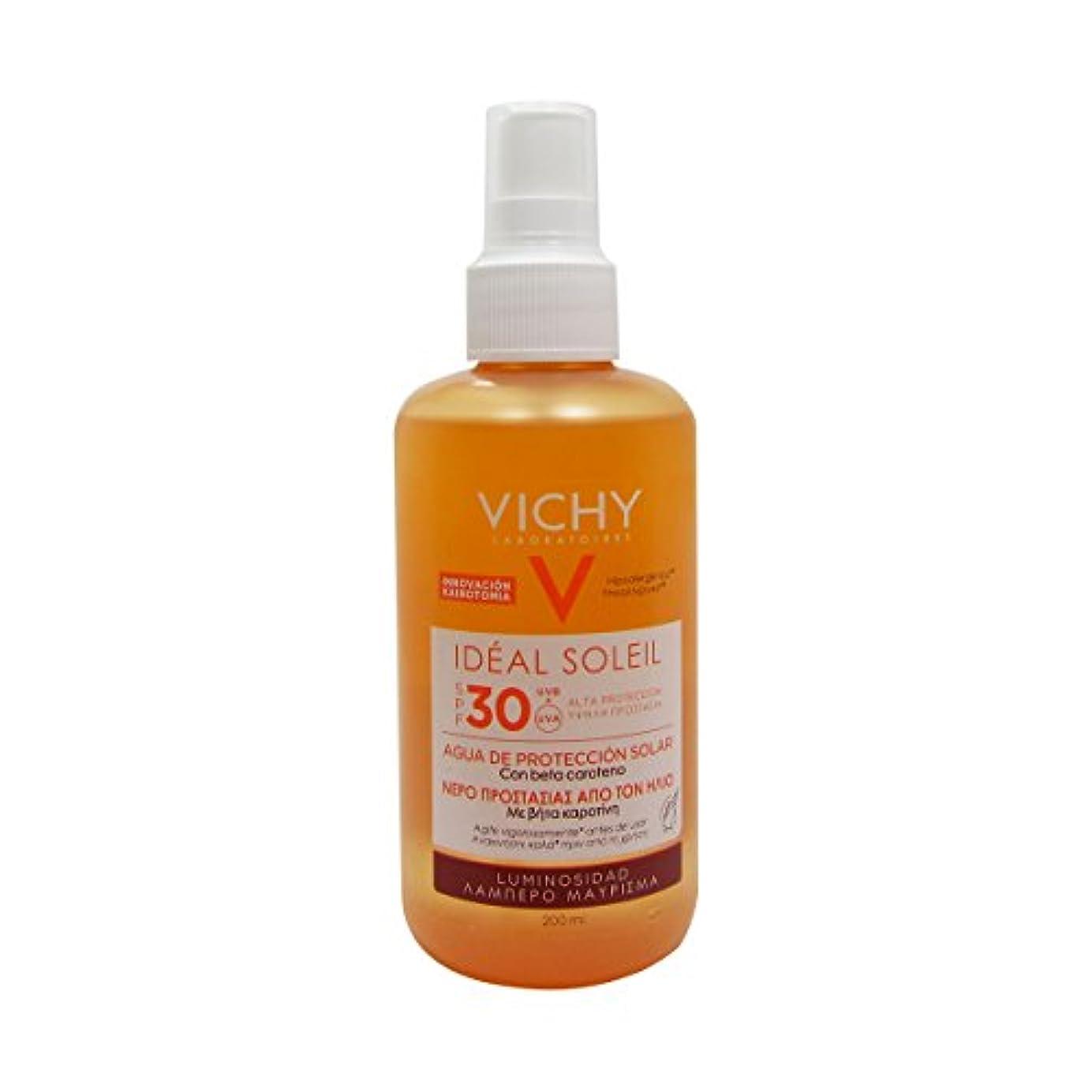 水陸両用正当な遊び場Vichy Ideal Soleil Fresh Water Sun Protection Spf30 Luminous Tan 200ml [並行輸入品]
